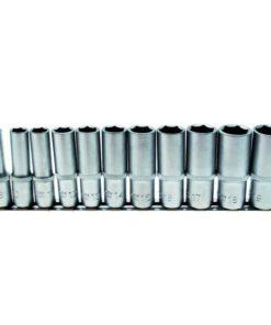BGS 11-Piece Deep Socket Set, 8-19mm, 3/8inch