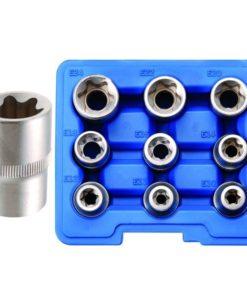 BGS 9-Piece E-Type Socket Set