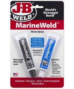 JB Weld Marine Weld Epoxy Twin Tube