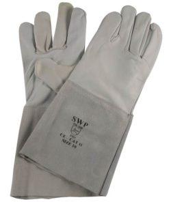 SWP 1941 Grey Goatskin TIG Gloves